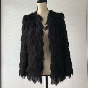 Zara thin haired jacket